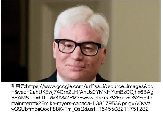 名前(英語表記):マイク・マイヤーズ(Mike Myers) 本名/正式名称:Michael John Myers