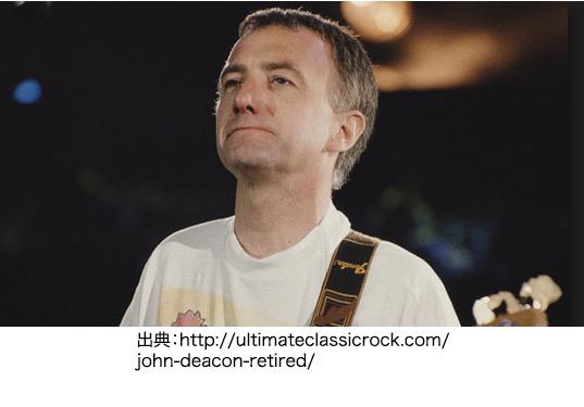 ジョンディーコン(John Deacon) 出生名: John Richard Deacon