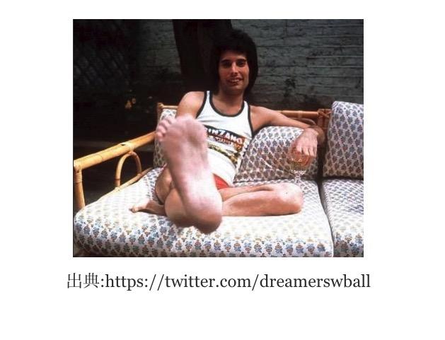 フレディマーキュリーが足を切断?晩年のエイズによる壊疽が原因か?フレディマーキュリーは足が長い!